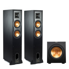 R-26FA Dolby Atmos Floorstanding Speakers with R12SW Subwoofer (Black)