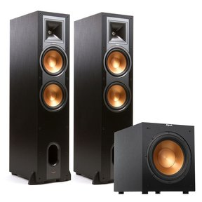 "R-28F Reference Floorstanding Speakers with R12SW 12"" 400W Powered Subwoofer"
