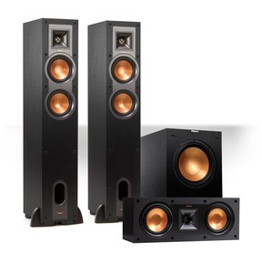 "Reference 3.1 Channel R-24F Floorstanding Speaker Bundle with 12"" Subwoofer (Black)"