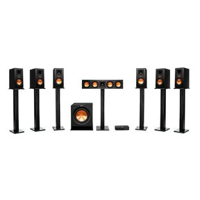 Reference Premiere HD Wireless 7.1 Channel Monitor Speaker System with HD Control Center