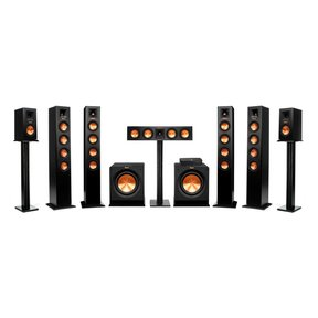 Reference Premiere HD Wireless 7.2 Channel Floorstanding and Monitor Speaker System with HD Control Center