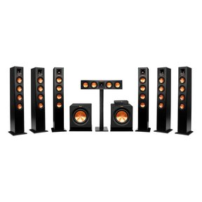 Reference Premiere HD Wireless 7.2 Channel Floorstanding Speaker System with HD Control Center