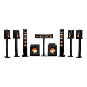Reference Premiere HD Wireless 7.2 Channel Monitor and Floorstanding Speaker System with HD Control Center