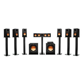 Reference Premiere HD Wireless 7.2 Channel Monitor Speaker System with HD Control Center