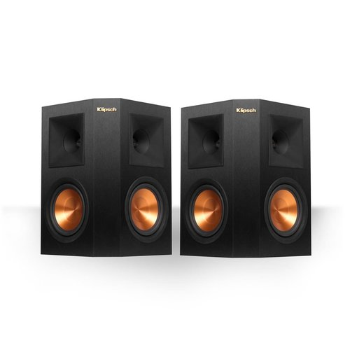 "View Larger Image of RP-240S Reference Premiere Surround Speakers with Dual 4"" Cerametallic Cone Woofers - Pair (Ebony)"
