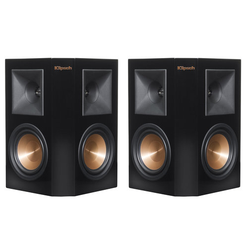 """View Larger Image of RP-240S Reference Premiere Surround Speakers with Dual 4"""" Cerametallic Cone Woofers - Pair (Piano Black)"""