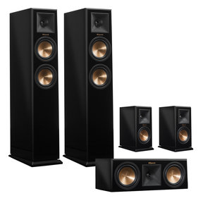 RP-250 Reference Premiere 5.0 Channel Speaker Package (Piano Black)