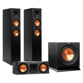 """RP-250F Reference Premiere Floorstanding Speaker Package with RP-250C Center Channel Speaker and R110 10"""" Subwoofer"""
