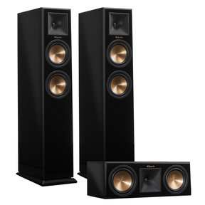 RP-250F Reference Premiere Floorstanding Speaker Pair with RP-250C Center Channel Speaker (Piano Black)