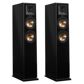RP-250F Reference Premiere Floorstanding Speakers with Dual 5.25 inch Cerametallic Cone Woofers - Pair (Piano Black)