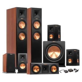 RP-260F Reference Premiere 7.1-Channel Speaker Package (Cherry) and Wireless Sub Kit