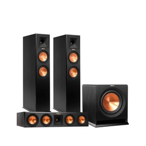 """RP-260F Reference Premiere Floorstanding Speaker Package With RP-440C Center Channel Speaker and R112 12"""" Subwoofer"""