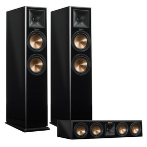 RP-260F Reference Premiere Floorstanding Speaker Pair with RP-440C Center Channel Speaker (Piano Black)