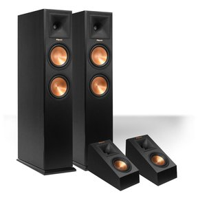 RP-260F Reference Premiere Floorstanding Speaker with RP-140SA Add-On Dolby Atmos Enabled Elevation Speakers
