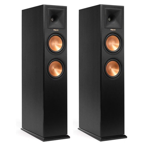 View Larger Image of RP-260F Reference Premiere Floorstanding Speakers with Dual 6.5 inch Cerametallic Cone Woofers - Pair