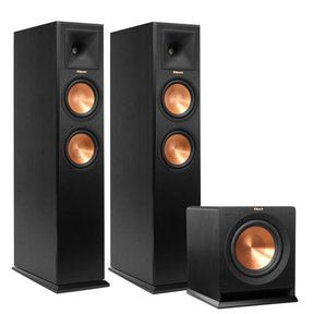 """RP-260F Reference Premiere Floorstanding Speakers with R-110SW 10"""" 200 Watt Subwoofer"""