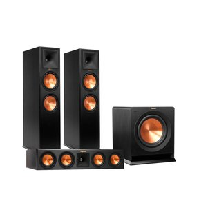 """RP-280F Reference Premiere Floorstanding Speaker Package with RP-450C Center Channel Speaker and R115 15"""" Subwoofer"""