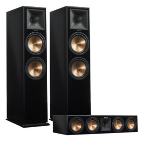 RP-280F Reference Premiere Floorstanding Speaker Pair with RP-450C Center Channel Speaker (Piano Black)