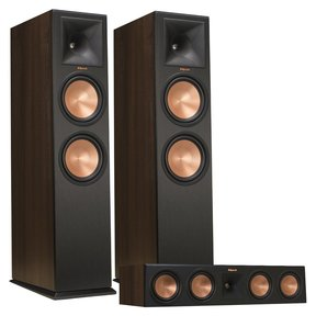 RP-280F Reference Premiere Floorstanding Speaker Pair with RP-450C Reference Premiere Center Channel Speaker (Walnut)
