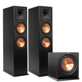 """RP-280F Reference Premiere Floorstanding Speakers with R-112SW 12"""" Reference Series Powered Subwoofer"""