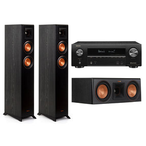 RP-4000F 3.0 Home Theater System with Denon AVR-X1600H 7.2 Channel AV Receiver