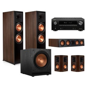 RP-8000F 5.1 Home Theater System with AVR-X2500H 7.2-Channel 4K Ultra HD AV Receiver