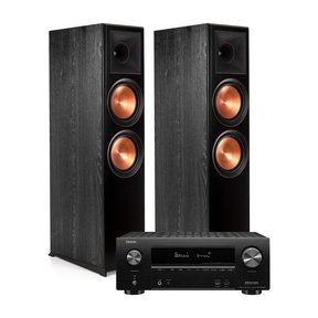 RP-8000F Floorstanding Speakers with Denon AVR-X2500H 7.2-Channel 4K Ultra HD AV Receiver