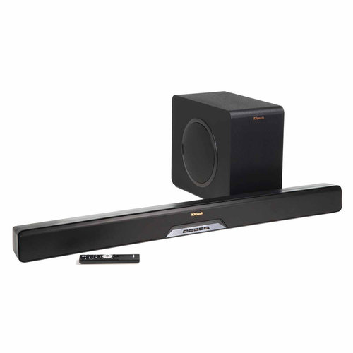 View Larger Image of RSB-14 Reference Sound Bar with Wireless Subwoofer (Black)
