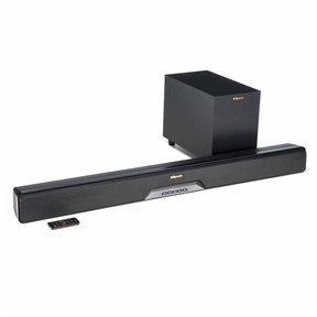RSB-6 Reference Sound Bar with Wireless Subwoofer (Black)