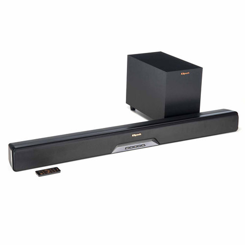 View Larger Image of RSB-8 Reference Sound Bar with Wireless Subwoofer (Black)