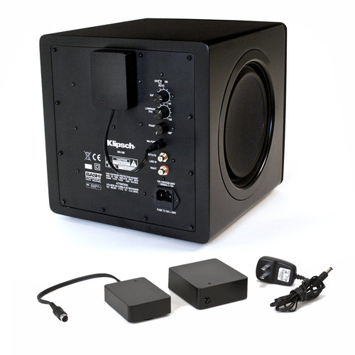 "View Larger Image of SPL-150 15"" Subwoofer (Ebony) with WA-2 Wireless Subwoofer Kit"