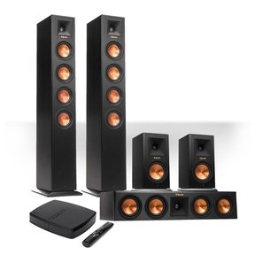 Reference Premiere HD Wireless 5.0-Channel Floorstanding Speaker System with HD Control Center