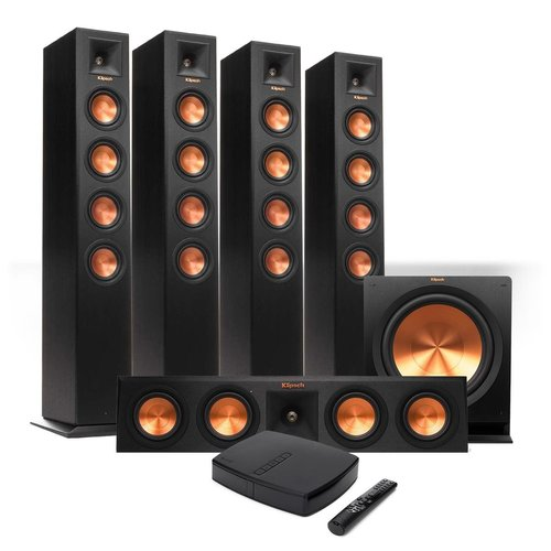 View Larger Image of Reference Premiere HD Wireless 5.1 Floorstanding Speaker System with HD Control Center