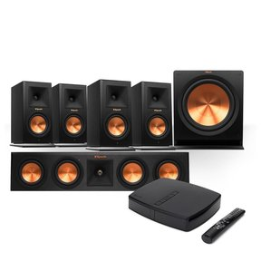 Reference Premiere HD Wireless 5.1 Monitor Speaker System with HD Control Center