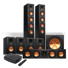 Reference Premiere HD Wireless 7.1 Floorstanding and Monitor Speaker System with HD Control Center