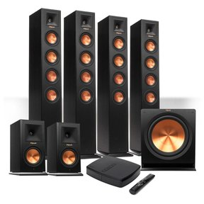 Reference Premiere HD Wireless 6.1 Speaker System with HD Control Center