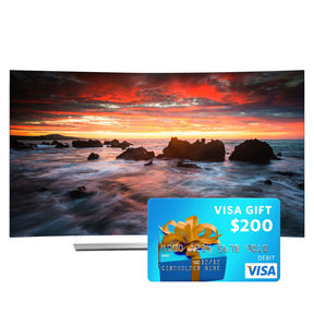 """55EG9600 55"""" Class Curved 4K Ultra HD 3D OLED Smart TV with FREE $200 Visa Gift Card"""