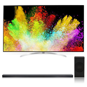"65SJ9500 65"" 4K SUHD HDR Smart LED TV with SJ8 4.1 Channel High Resolution Audio Soundbar with Wireless Subwoofer"