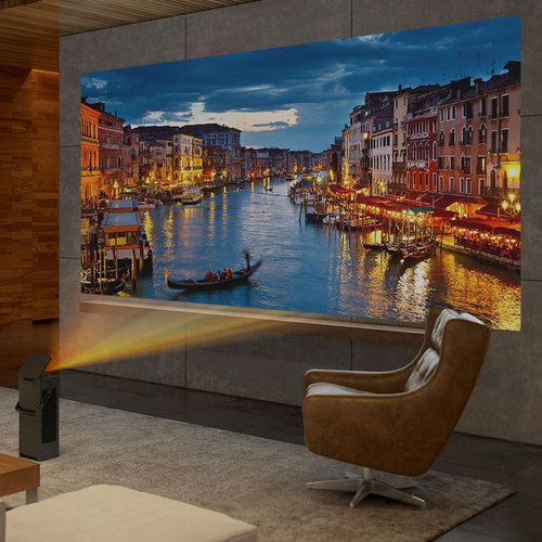 View Larger Image of HU80KA 4K UHD Laser Smart Home Theater CineBeam Projector