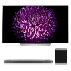 "OLED65C7P 65"" OLED 4K UHD HDR Smart TV with SJ9 5.1.2 Channel High Resolution Audio Soundbar with Dolby Atmos and Wireless Subwoofer"