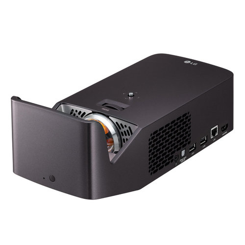 View Larger Image of PF1000UW Ultra Short Throw LED Home Theater Projector with webOS Smart TV and Magic Remote