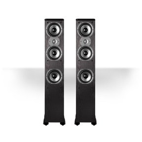 "TSi400 4-Way Tower Speakers with Three 5-1/4"" Drivers - Pair (Black)"