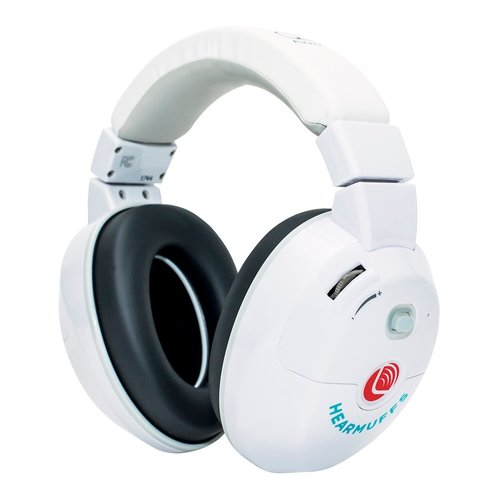 View Larger Image of Kid's HearMuff Active Hearing Protection Trio (White)