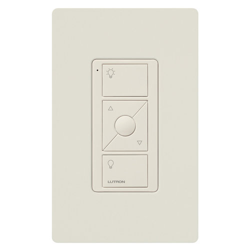 View Larger Image of Caseta Wireless Pico Remote Control with Wall-Mounting Kit (White)