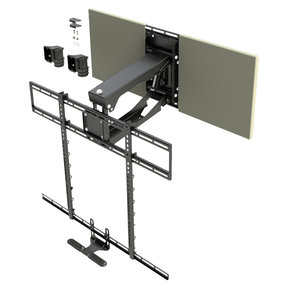 "MM700 Pro Pull Down TV Mount for 45"" or Larger TV (max. 115 lbs)"