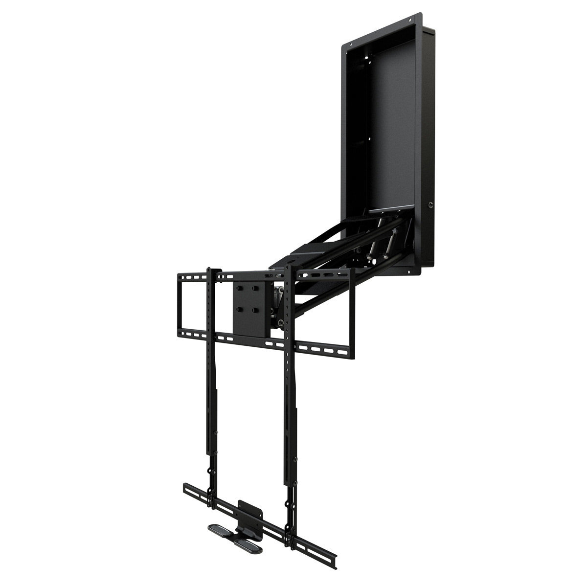 View Larger Image Of MM750 Pro Series Pull Down U0026 Swivel TV Mount