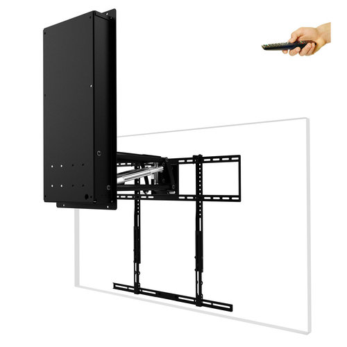 View Larger Image of MM850 Automated Pull Down & Swivel TV Mount