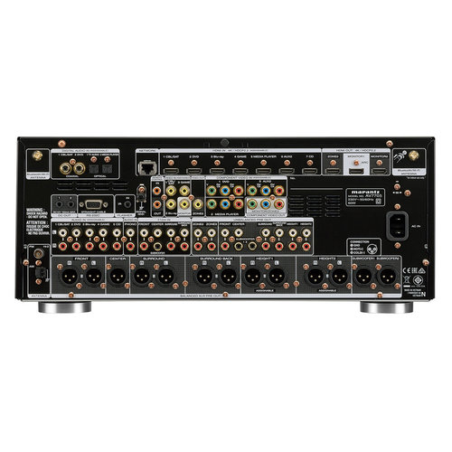 View Larger Image of AV7705 11.2-Channel 4K Ultra HD AV Surround Pre-Amplifier with HEOS and Amazon Alexa