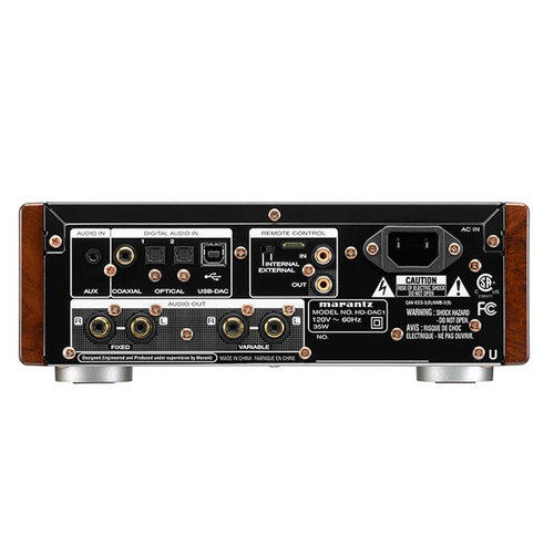 View Larger Image of HD-DAC1 USB Headphone Amplifier with Digital Audio Converter