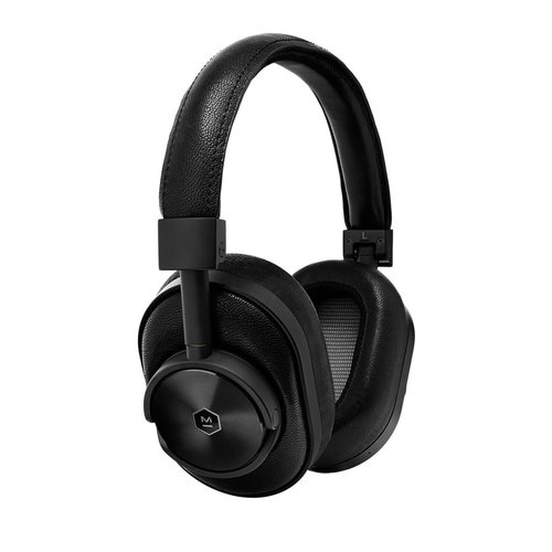View Larger Image of MW60 Wireless Over-Ear Headphones with Headphone Stand (Black)